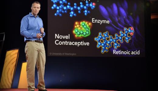 TEDで医療英会話を学習【John Amory|男性用避妊ピルをいかに作用させるか】