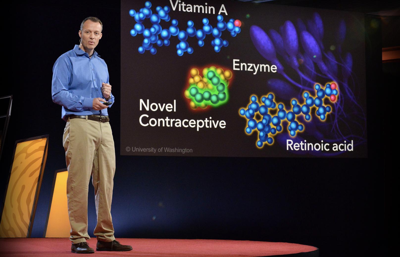TED 医療英会話を学習 John Amory 男性用避妊ピルをいかに作用させるか