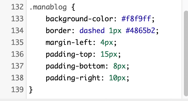 manablog風 マナブログ風 囲み枠 デザイン CSS