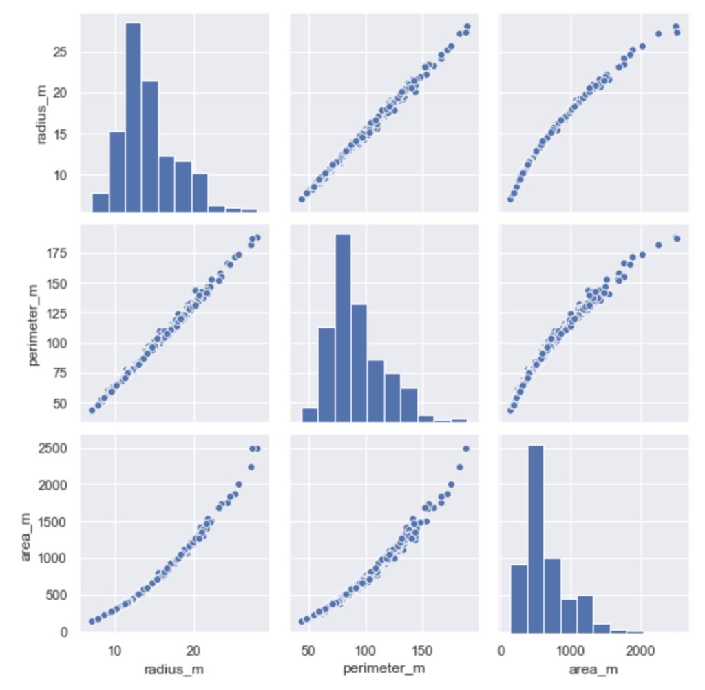 Python seaborn 練習問題 ヒストグラムと散布図を並べて表示